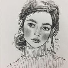 Daily drawing - - - - - - #art#artwork #artist #artistic #arte#daily #drawing #pencil #sketch #girl#portrait #figure#illustration #일러스트 #연필 #스케치 #일상 #데일리 #그림 #인물화