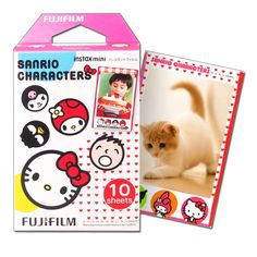 Find More Film Information about Fujifilm Instax Mini Film Sanrio Characters For Fuji Instant Camera Mini Neo 90 8 25 50s SP 1 SP 2 Photo Paper 10 sheets,High Quality character clock,China character usb Suppliers, Cheap character hair from Photography store on Aliexpress.com