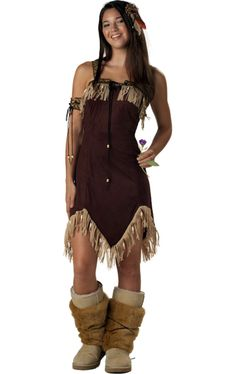 Teen Red Indian Princess Costume  : Get It On Fancy Dress Superstore, Fancy Dress  Accessories For The Whole Family. http://www.getiton-fancydress.co.uk/kidsteens/wildwildwestkidsteens/teenredindianprincesscostume#.Uu07n_sry10