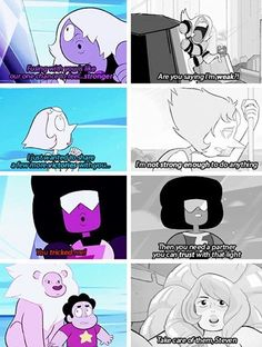 Did you hear that? It was my heart breaking. OMG look at Steven's face.