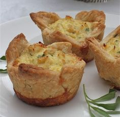Crab Tartlet Appetizers