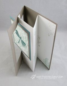 Stamp & Scrap with Frenchie: All about tunnel card at Live Stamping tonight