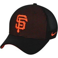 bb7d371ac2d14 Men s San Francisco Giants Nike Black AeroBill Classic 99 Performance  Adjustable Hat
