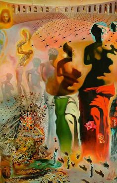 Salvador Dali Hallucinogenic Toreador Surrealist Art Poster 11x17