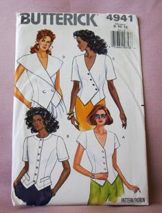 1990 Uncut  Butterick  Pattern  4941 Misses by lovelylovepatterns, $4.00