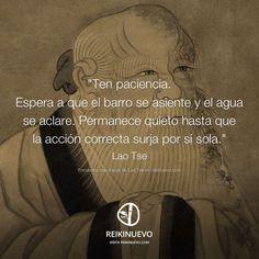 La acción correcta (Lao Tse)