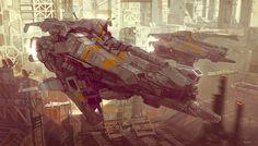 concept ships: Ships by Daniel Graffenberger