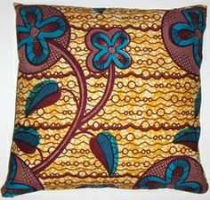 AW006 African wax printed cototn pillow cover
