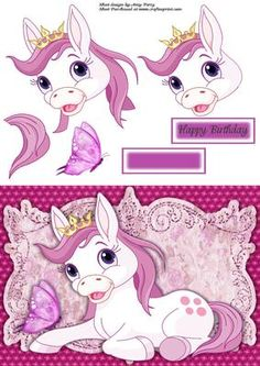 Gorgeous Fantasy Lilac Pony on Craftsuprint - View Now!