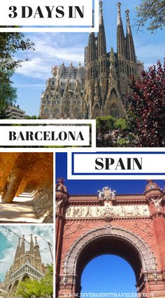 3 days in Barcelona, Spain. Planning a trip to Barcelona, Spain? Use our 72-hour Barcelona vacation travel guide for the perfect long weekend itinerary, including the best accommodations, attractions and restaurants. Click to read 3 Days in Barcelona – What to do in Barcelona, Spain #Barcelona #Spain #Travel #Guide