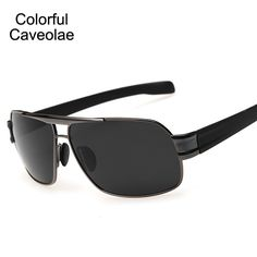 6ab0e08bf9 >> Click to Buy << Colorful Caveolae Sunglasses Men Polarized