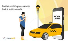 Provide your passengers with an intuitive app that lets them to book a taxi anywhere and anytime without any hassles. Driver App, Taxi App, App Development, Intuition, Advertising, Management, Let It Be, Books, Ideas
