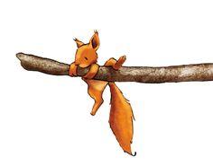 Wandtattoo Eichhörnchen als Wanddekoration fürs Kinderzimmer. Art Journal Challenge, Art Journal Prompts, Doodle Art Journals, Art Journal Techniques, Art Journal Pages, Easy Pencil Drawings, Doodle Drawings, Drawing Sketches, Pencil Art