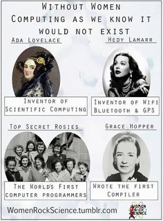 Thank these women for the computer technology you love.