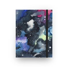 Sketchbook Galáxia Aquarela de @juzimmermann | Colab55