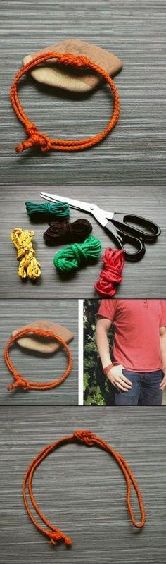 DIY Knot Bracelet ideas by echkbet