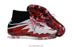 Nike Hypervenom Phantom II FG White Red Black