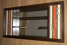 Mid Century Shadow Box Turner Wall Accessory Mirror