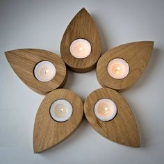 Candle holder  Droplets of a flower  door DesignAtelierArticle, $37.60