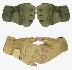 Blackhawk Hell Storm Tactical us Army Outdoor Combat Training Airsoft Shooting Combat Bicycle Paintball Half Fingerless Gloves - Seasons Chic