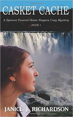 Today I'm pleased to welcomeJanice J. Richardson, author of The Spencer Funeral Home Niagara Cozy Mystery Series. The first book in her series, Casket Cache, is already on my Kindle! I love her unique take on the cozy mystery genre and Canadian setting. Now lets take a few minutes to get to know Janice and her books a bit better...   Introducing Janice J. Richardson Please tell me a little bit about yourself and your writing career.  I am an identical twin and a special needs mom. My ...