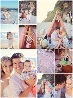 Family Picture Ideas: By the Sea....Nautical, Vintage, Anthropologie-inspired surf family portrait