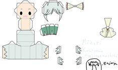 "Mizuki from the Manga/Anime ""Kamisama Hajimemashita"" Enjoy this Papercraft! Tomoe [link] More coming soon! Kamisama Kiss, Tomoe, Nanami, Paper Toys, Paper Crafts, Papercraft Anime, Paper Doll Template, Anime Crafts, Paper Models"