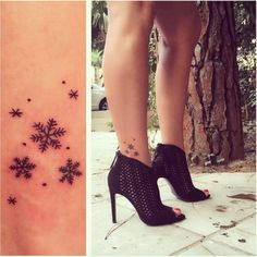 21 Gorgeous snowflake tattoos to inspire your ink: Tasteful