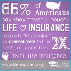 Life insurance really is a lot less expensive than you think. Plus, an insurance agent can help you find coverage regardless of how small you think your budget is!