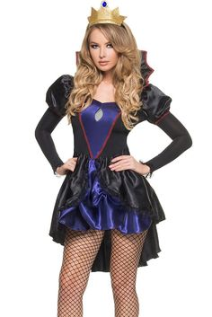Royal Evil Queen Halloween Costume - Sizes S and M  sc 1 st  Pinterest & 55 best Royal rave images on Pinterest | Fashion plates Rave and ...