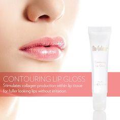 NuColour contouring and plumping lip gloss NuColour Konturierung und praller Lipgloss Lippen Contouring Lip Gloss, Plumping Lip Gloss, Nu Skin, Burts Bees, Vaseline, Gloss Labial, Flavored Lip Gloss, Color Contour, Best Lip Gloss