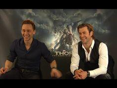 ▶ Thor 2 | Chris Hemsworth & Tom Hiddleston EXCLUSIVE Interview (2013) & Gewinnspiel - YouTube