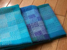Large Kitchen Dish Tea Hand Bread Towel- Handwoven Color Blocks