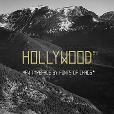 Image of Hollywood 99 + 69 free - font