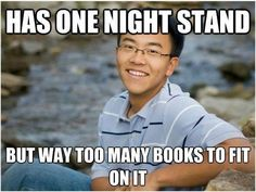 The problems of having a one night stand funny humor having night problems stand Lol, Orange Power, Up Book, Book Nerd, Funny Bunnies, One Night Stands, Thats The Way, I Love To Laugh, I Smile