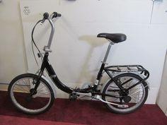 Schwinn 20 Inch Loop Folding Bike Black Outdoors Bicycling And