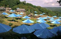 "Christo and Jeanne-Claude ""The Umbrellas"""