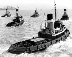 Alexandra Towing taken in the Merchant Navy, Merchant Marine, Old Boats, Small Boats, Liverpool Docks, Offshore Boats, Steam Boats, Classic Sailing, Ferry Boat