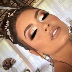 Makeup Eye Looks, Wedding Makeup Looks, Cute Makeup, Gorgeous Makeup, Perfect Makeup, Make Up Looks Wedding, Makeup Looks For Prom, Bridal Make Up, Glamour Makeup Looks
