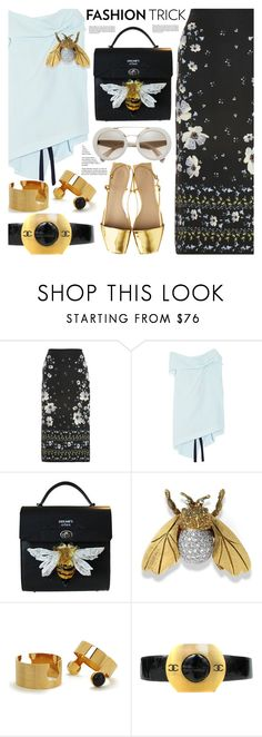"""""""Fashion Trick"""" by barbarela11 ❤ liked on Polyvore featuring Erdem, Roland Mouret, Marc by Marc Jacobs and Chanel"""