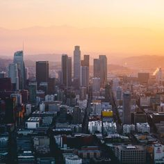 By (at Los Angeles, California) Seattle Skyline, New York Skyline, San Diego, Wanderlust, Moving To Los Angeles, Fictional World, City Of Angels, Dream City, California Dreamin'