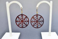 Items similar to Snowflake leather earrings, leather earrings, natural leather jewelry geometric jewelry on Etsy Leather Earrings, Leather Jewelry, Geometric Jewelry, Cowhide Leather, Snowflakes, Trending Outfits, Unique Jewelry, Handmade Gifts, Etsy
