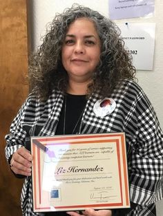 Liz Hernandez was recently recognized for 20 years of dedicated service with Tucci Learning Solutions.  We at TUCCi congratulate her for her loyal commitment to the learners and their families who receive ABA services from our company.