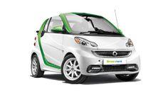 Louer un cabriolet avec Greenrent à Nice. Smart E Drive Cabriolet.