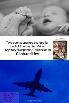Two events happened around the same time that sparked the idea for Captured Lies - a kidnapped baby and an almost plane crash. Book 1, Thriller, Plane, Mystery, Events, Shit Happens, This Or That Questions, Movie Posters, Baby