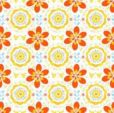 Lovely Day Pattern by katiedaisy (Katie Lombardo) @Flickr