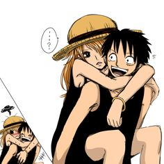 Luffy and nami favourites by TheUnstableArtist on DeviantArt