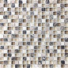Eden Mosaic Tile 3d 0 46 Quot W X 0 46 Quot L Metal Mosaic Tile