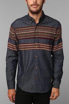 Staple Maya Chambray Button-Down Shirt #urbanoutfitters