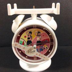 Pink Lady, Alarm Clock, Industrial Design, Nostalgia, Japan, Projection Alarm Clock, Alarm Clocks, Japanese Dishes, Instructional Design